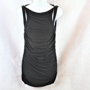 Bailey 44 Ruched Cut out Jersey Bodycon Mini Dress